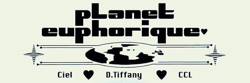'Planet Euphorique' with CCL, Ciel  and D. Tiffany @ The Pickle Factory, London, 15/02/20