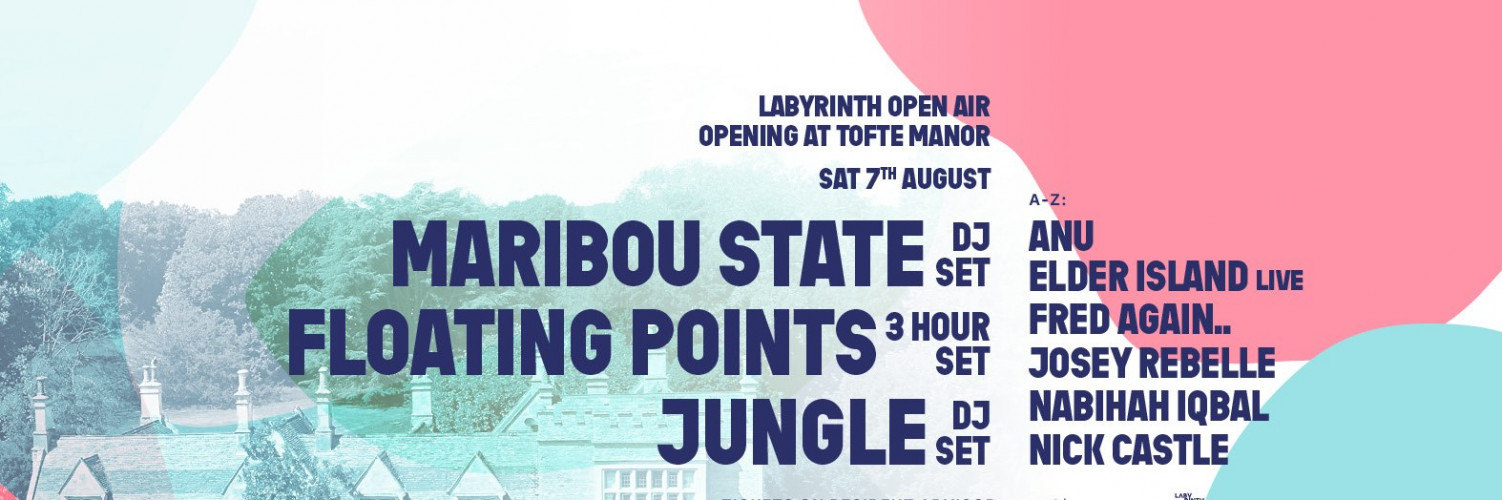 Labyrinth Open Air Opening @ Tofte Manor - 07/08/21