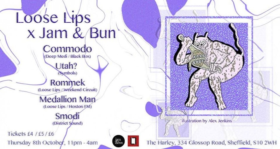 Loose Lips x Jam & Bun presents: Commodo & Residents