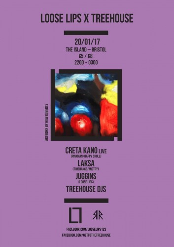 Loose Lips x Treehouse in Bristol with Creta Kano & Laksa