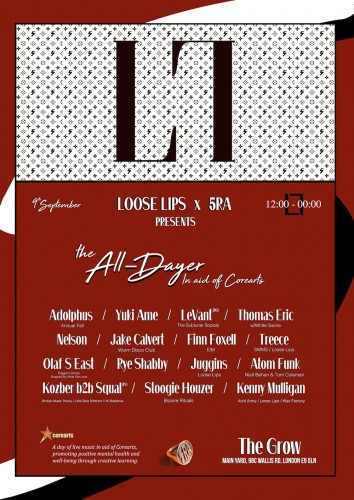 Loose Lips x 5RA - All-Dayer in aid of Corearts