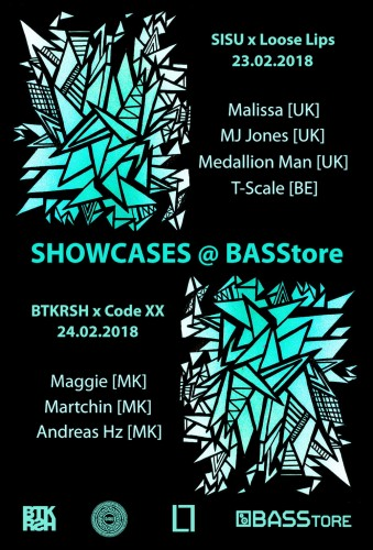 Loose Lips x SISU at @ BASStore, Kosovo