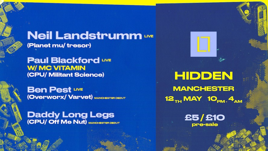 Neil Landstrumm, Paul Blackford + more - Loose Lips in MCR