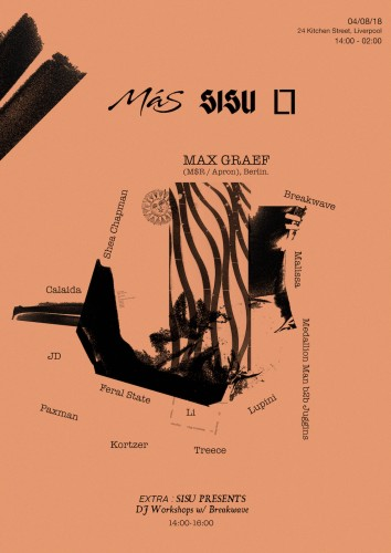 Max Graef - Más x Loose Lips x SISU - Liverpool All Dayer