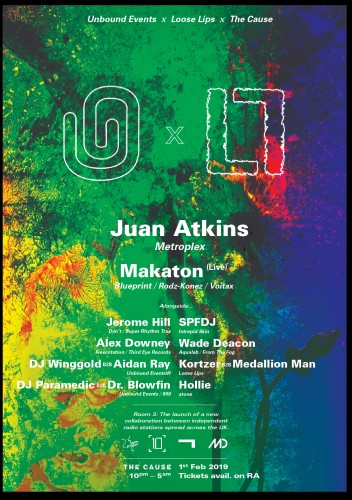 Juan Atkins in London!