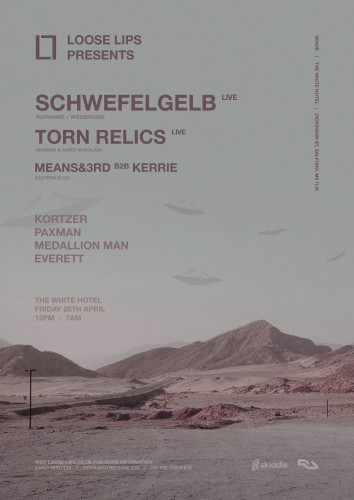 Schwefelgelb, Torn Relics, Means & 3rd + Kerrie - Loose Lips In Manchester