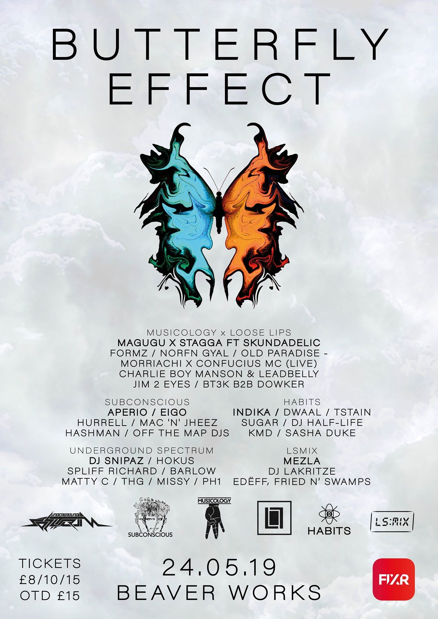 Butterfly Effect - Beaverworks - 24/5/19