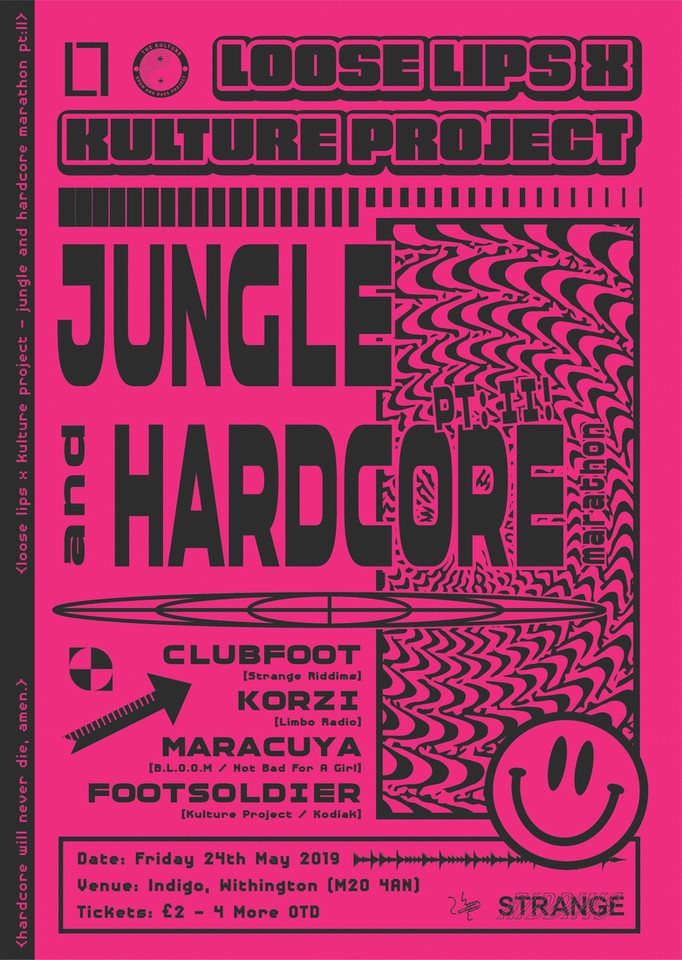 Loose Lips X Kulture Project: Jungle & Hardcore Marathon pt II