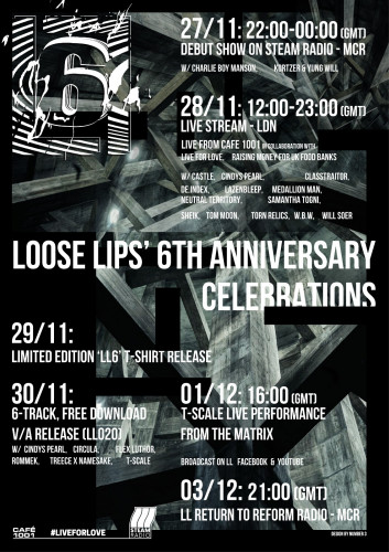 Loose Lips' 6th Anniversary Celebrations